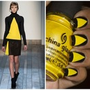 Pop of Sunshine- Inspired by Victoria Beckham Design
