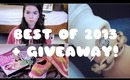 Best of 2013 tag + Giveaway!