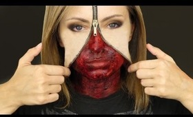 Unzipped Zipper Face Makeup FINAL PD