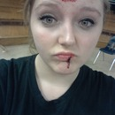 Blood makeup.