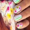 Nail Art Estampa de Vestido