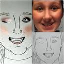 Custom Face Charts: Jillian