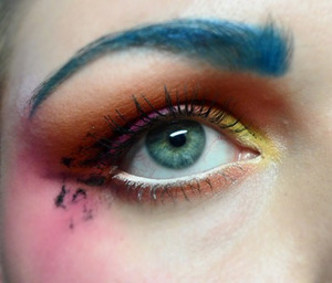 Ekka Inspired Makeup Clown Makeup