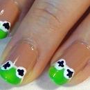 Kermit Nail Art!