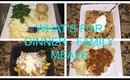 What's For Dinner |Week of Quick and Easy Family Meals