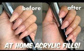 DIY Acrylic Fill At Home