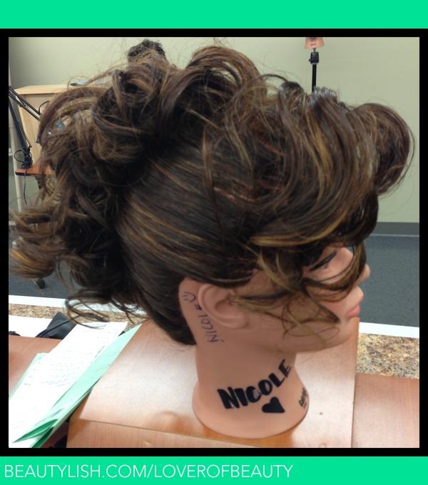 The Curl Faux Hawk  msncom