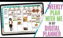 Setting up Weekly Digital Plan With Me October 21, Digital PWM October 21 to October 27