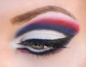 A look I did inspired by the New York Giants!