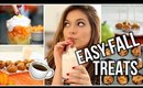Easy and Yummy Fall Treats!!