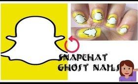 Diy Snapchat Nails for Halloween
