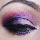 Purple Dark Eyes