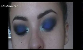 Blue Night Makeup Tutorial