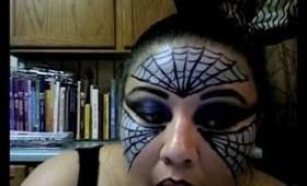 Halloween: Maquillaje de  araña reina