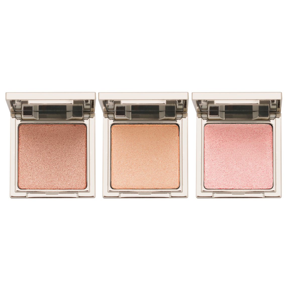 Jouer Cosmetics Powder Highlighter Trio Set Set 1 product smear.