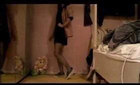 Julia's Fashion Minute: pink blazer, black dress, white top & purple lace