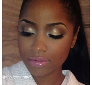 Prom makeup for brown skin
