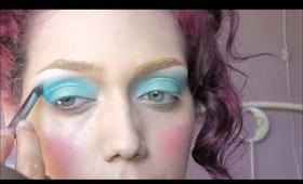 Modern Marie-Antoinette Inspired Makeup and Hair Tutorial