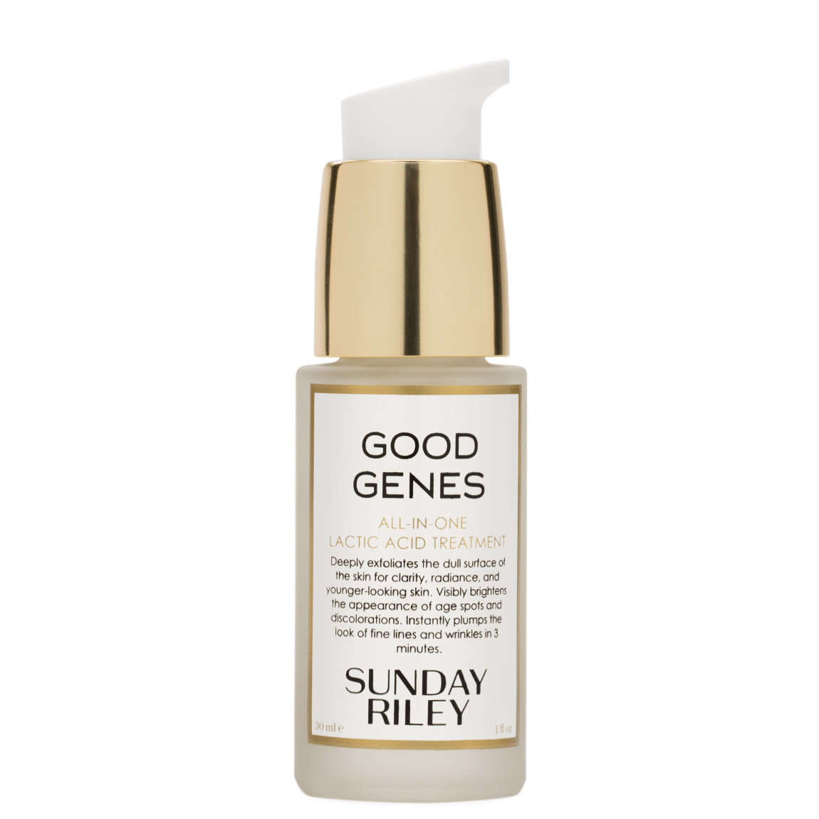 Sunday Riley Good Genes All-In-One Lactic Acid Treatment 30 ml product swatch.