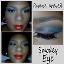 Reverse Smokey Eyey