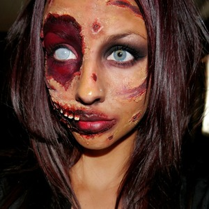my halloween makeup