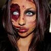 Zombie + Smokey eye