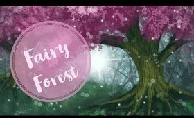 Digital painting Fairy Forest (speed paint)