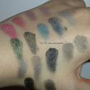 ELF Haul 32 eyeshadow palette swatch 2