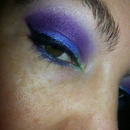 Teal, purple, and green:)