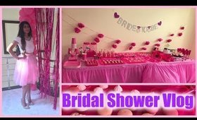 MY GIRLY PINK BRIDAL SHOWER: Decor and Food Table Ideas