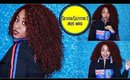 Sensationnel Empress IRIS Lace Front Red Curly Wig Tutorial For Beginners☆ 99J
