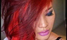 How to get dark hair vibrant red w/o prebleaching & a nondamaging color for bleached hair