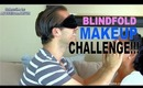 BLINDFOLDED MAKEUP CHALLENGE TAG with my HUSBAND!
