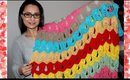 VINTAGE FAN RIPPLE BLANKET crochet tutorial