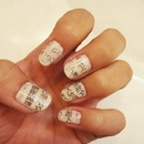 Japanese Newspaper Nails