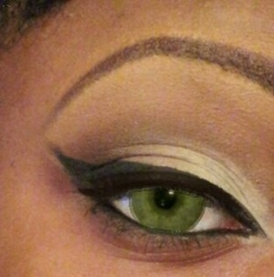 this is the eye liner without the eye lashes to theNeutral Eye Look.