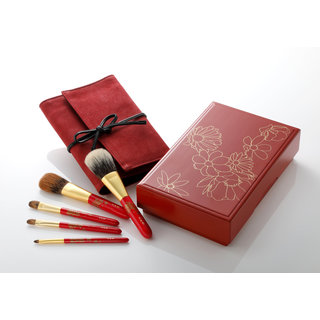 Cherry Blossom 5-Piece Brush Set