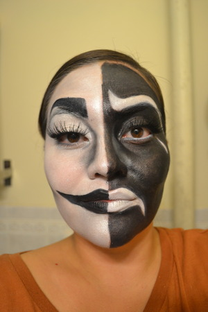 a quick Halloween look, it honestly took less than an hour!  www.beautywithatwistblog.com