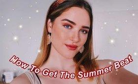 The Summer Beat: a makeup tutorial