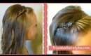 Picture Day Hairstyles, French Fishtail Braid Bangs And Curls, Princess Hairstyles