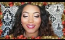 """Touch Of Sparkle"" Glam Holiday Makeup Using Drugstore Products"