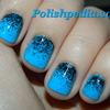 Black on Blue!