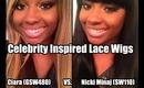 Celebrity Inspired Wigs | Ciara (GSW480) VS. Nicki Minaj (SW110) - BestLaceWigs.com