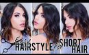 (EASY) HAIRSTYLE FOR SHORT HAIR!