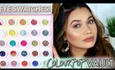 EYE SWATCHES | COLOURPOP Is This Real Life? Super Shock Shadow Vault