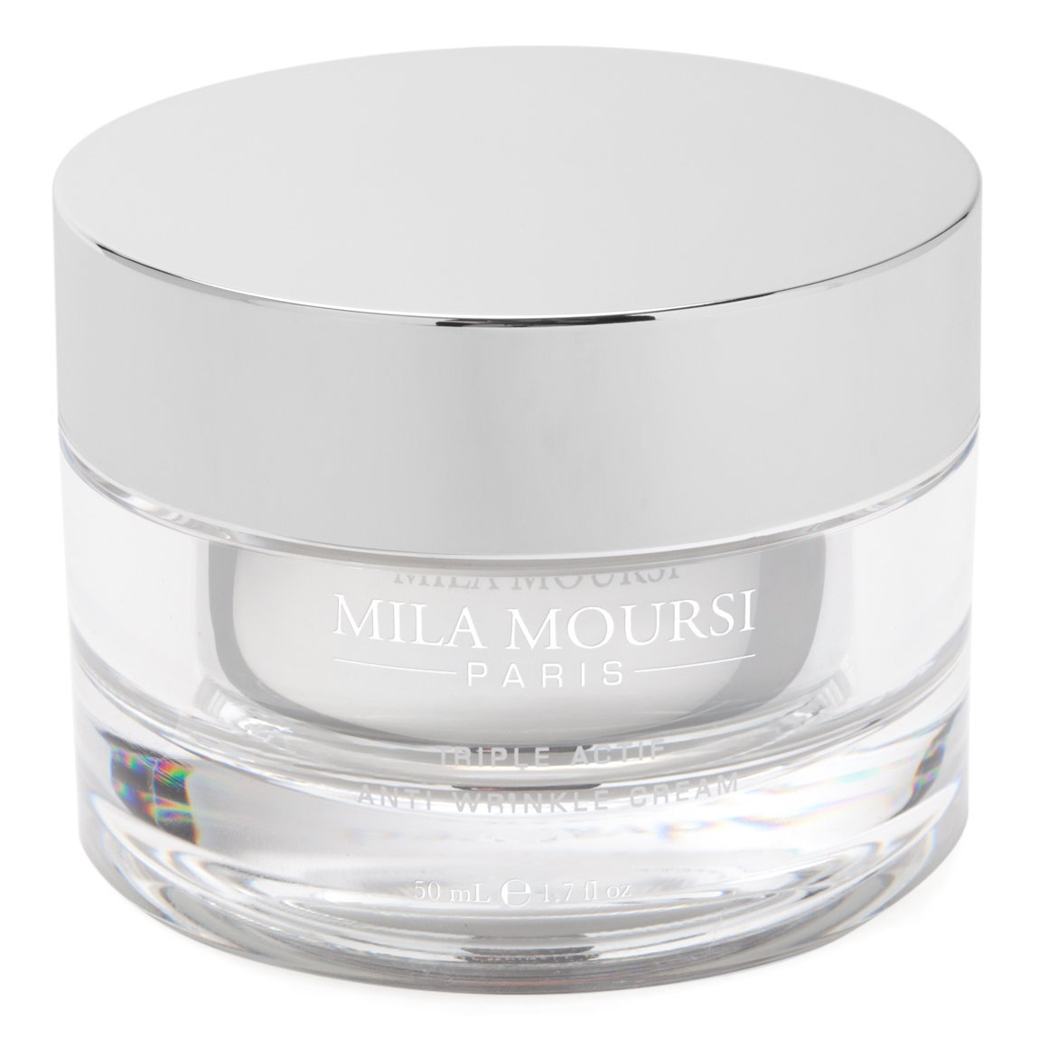 Mila Moursi Triple Actif Anti-Wrinkle Cream product swatch.