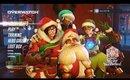 Overwatch Winter Wonderland Live  Livestream Gaming