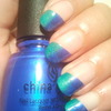 Blue and green gradient