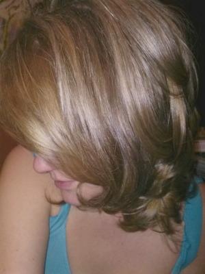 Hair color and haircut Christy Farabaugh