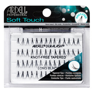 Soft Touch Individuals Knot-Free Lashes Long Black